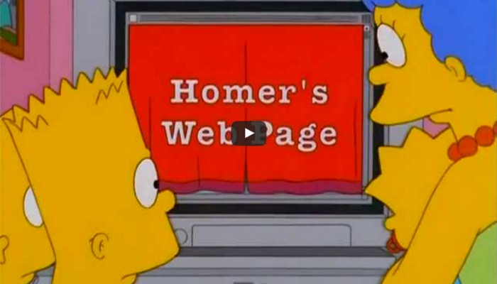 homers-web-page