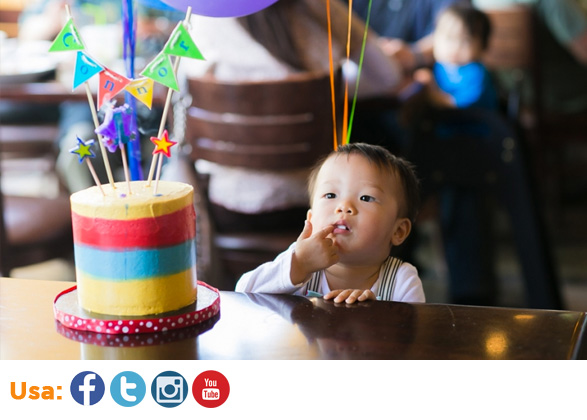 Las celebraciones de cumpleaños son las más comunes dentro de los especiales